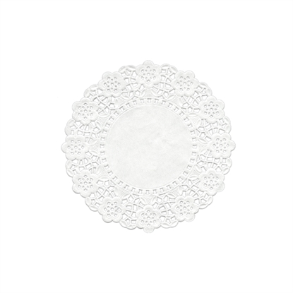 Picture of Swantex RD-55 White Round Doyley 5.5""